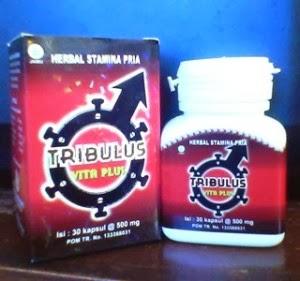 Jual kapsul tribulus vitaplus herbal stamina dan vitalitas pria dewasa di Surabaya