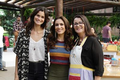 Carol, Ticiana e Aline (Crédito: Gabriel Gabe)