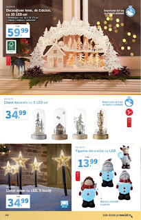 CATALOG LIDL 3 - 9 decembrie 2018 figurine de craciun