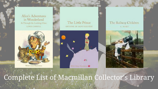 List of Macmillan Collector's Library Editions