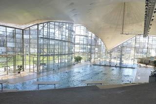 Centro de natación del Olympiapark.