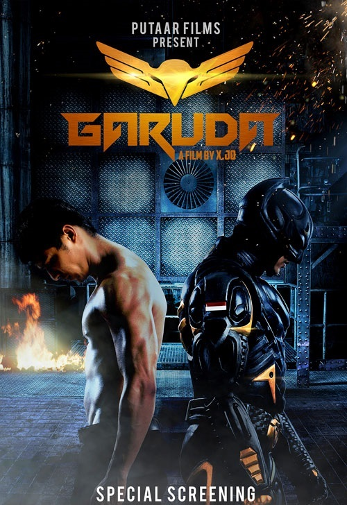 Garuda Superhero (2014) Hindi Dubbed 720p HDRip x264 900MB