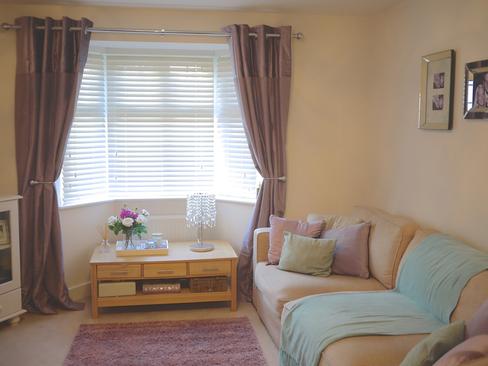 Next Home Living Room Accessories Light Gray Set Update Bella Coco By Sarah Jayne Curtains In Mauve