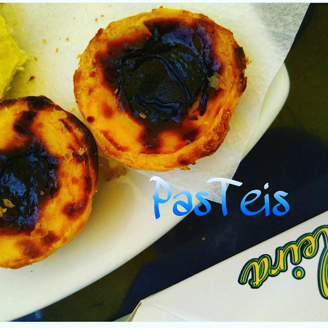 pasteles nata comer viajar Lisboa Belém Portugal