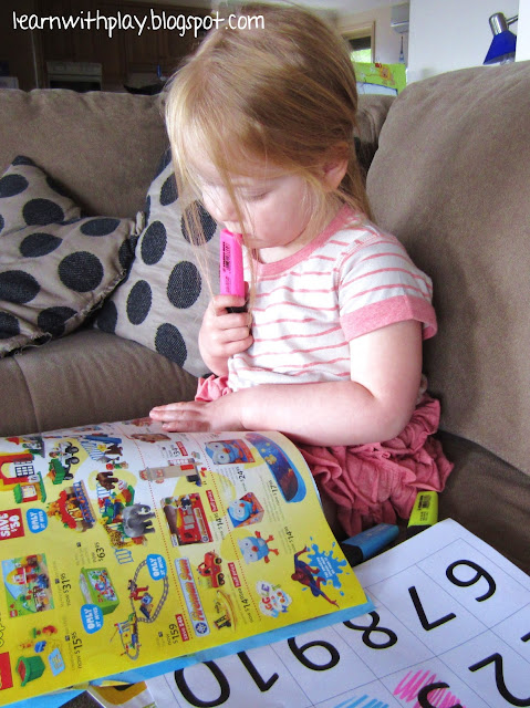 number recognition, early maths, math game
