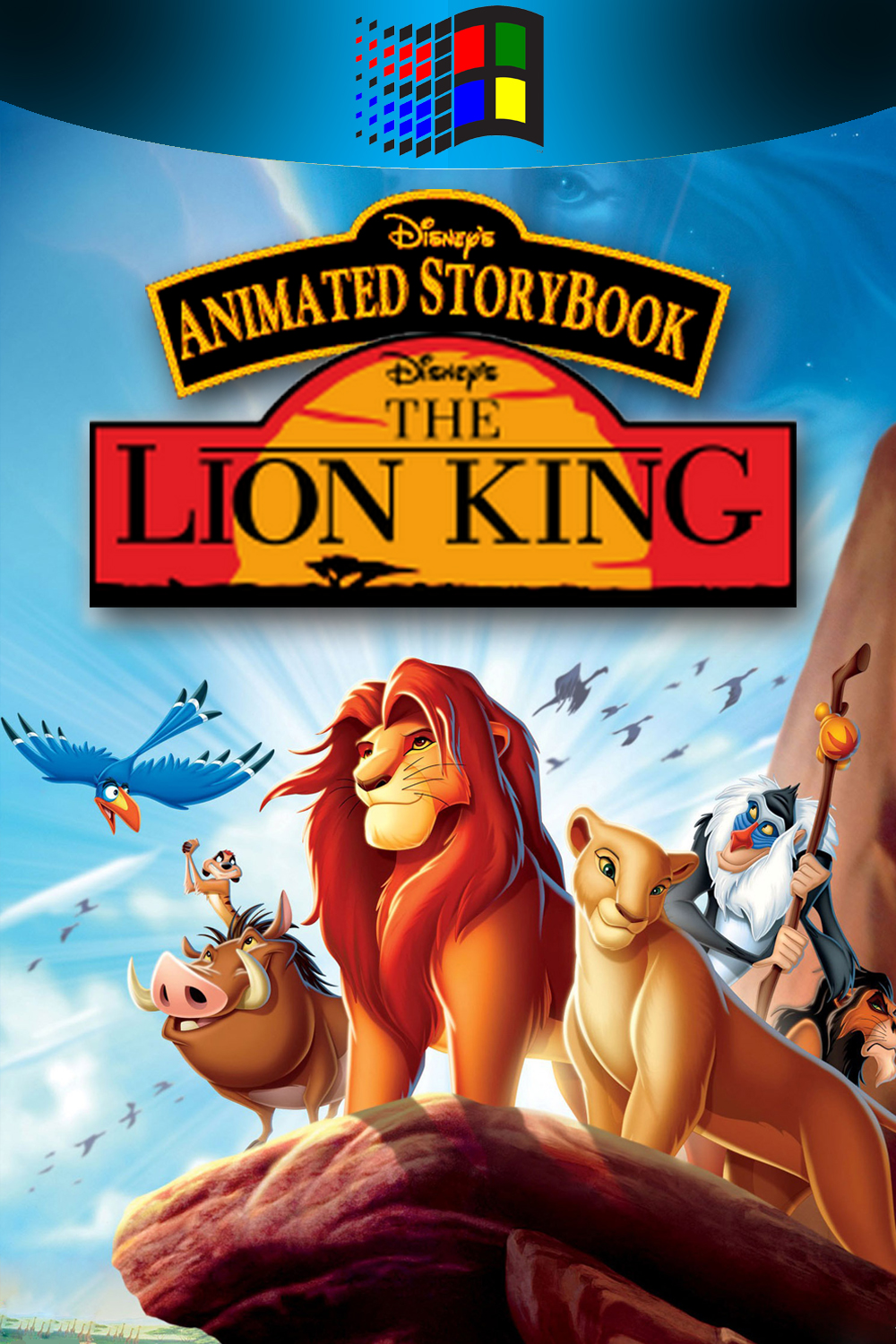 The Collection Chamber Disney S Animated Storybook The Lion King