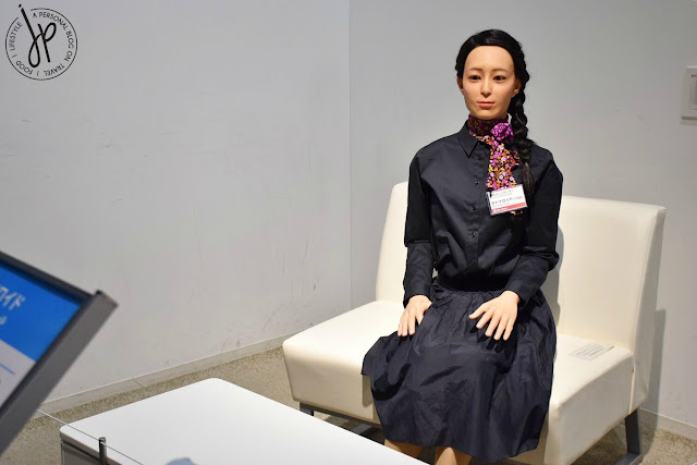 female human-like robot