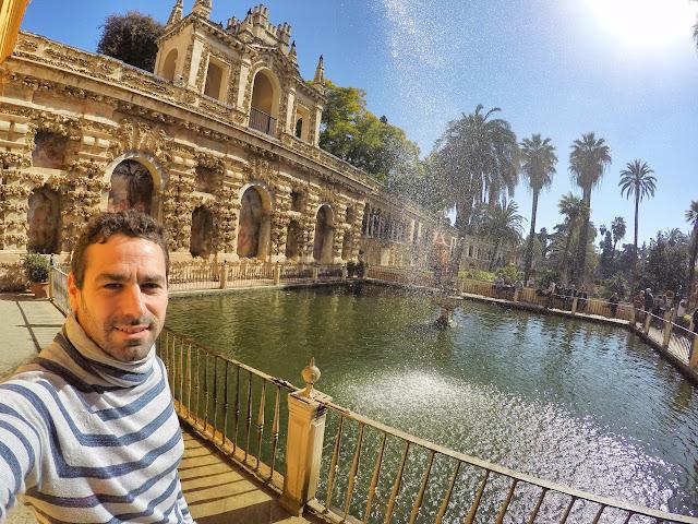 Estanques y Jardines del Real Alcazar de Sevilla