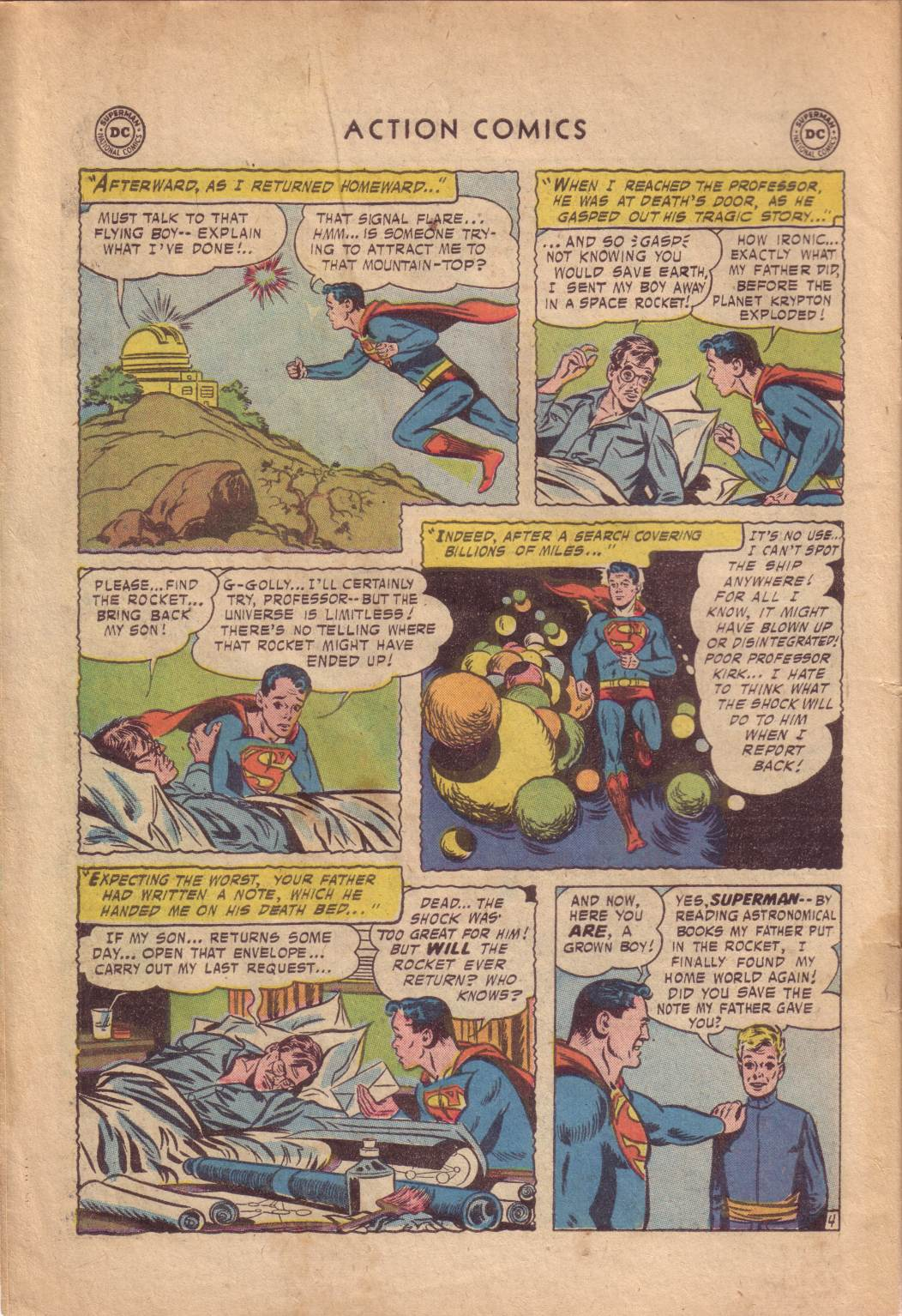 Read online Action Comics (1938) comic -  Issue #232 - 6