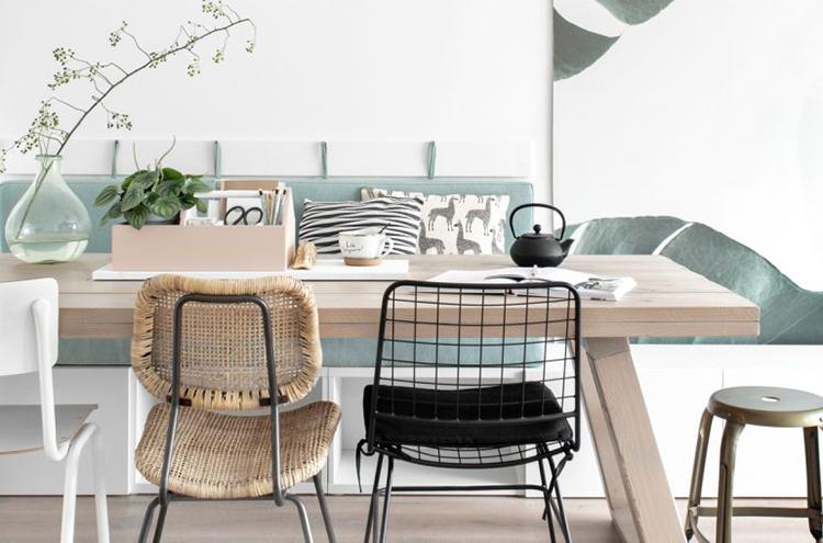 Cómo transformar un estante Besta de Ikea en un banco corrido