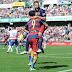 """هاتريك سواريز يُتوج برشلونة بطلا للدوري الأسباني """"الليغا"""""""