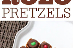 QUICK AND EASY ROLO PRETZELS