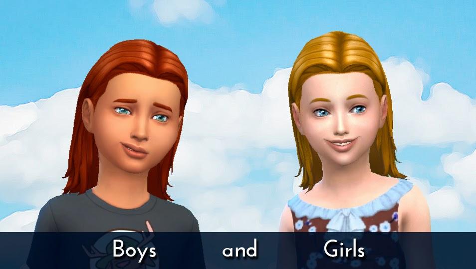Волосы для детей