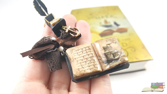 Ein Meer aus Tinte und Gold von Traci Chee - The Reader (Sea of Ink and Gold) Kette necklace charm