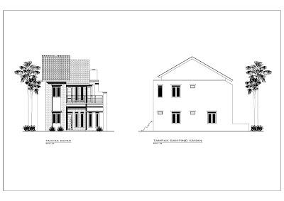 Desain Rumah Minimalis 2 lantai 8