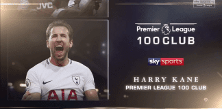 Premier League 100 Club – Harry Kane