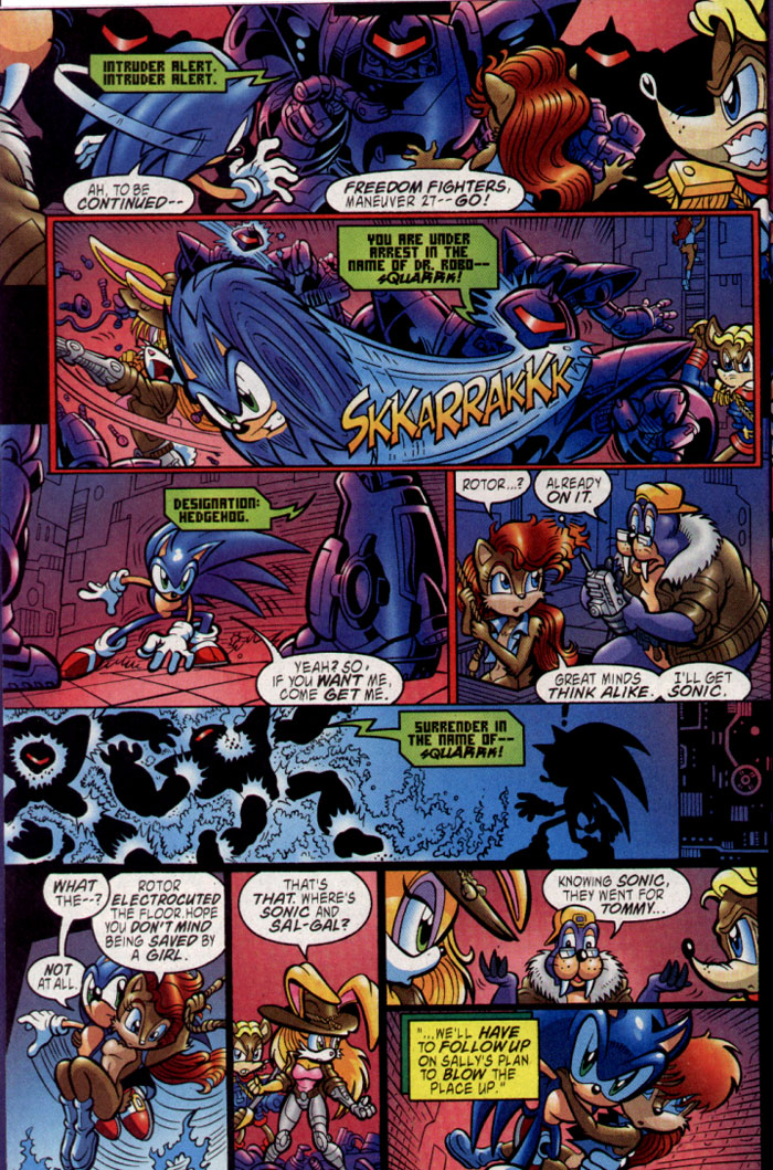 Read online Sonic The Hedgehog comic -  Issue #137 - 8