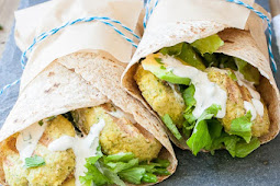 Easy Vegan Gluten Free Falafel with Tahini Sauce Recipes