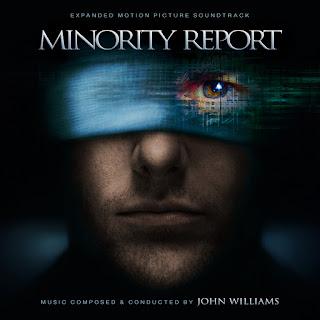 MINORITY REPORT JOHN WILLIAMS SOUNDTRACK COVER ALTERNATE EXPANDED