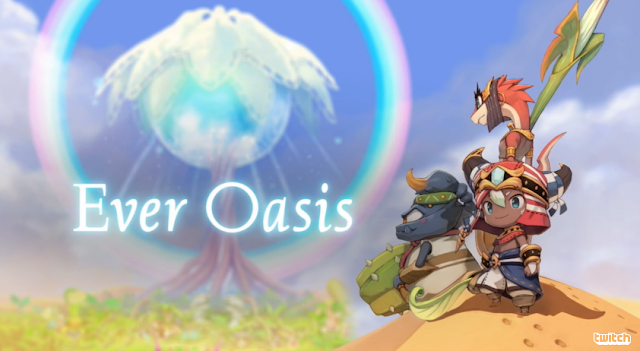 Ever Oasis 3DS title Grezzo Nintendo