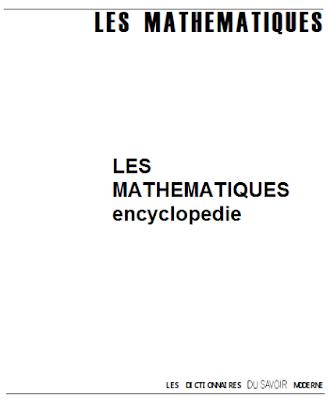 LES MATHEMATIQUES encyclopedie