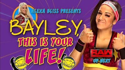 Bayley Alexa Bliss This is your Life Raw 2017
