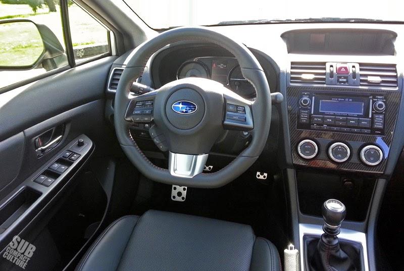 2015 WRX Limited interior