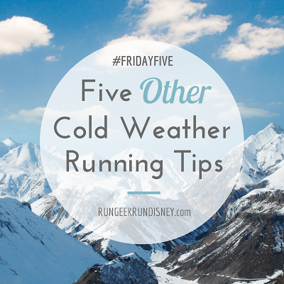 Five Other Cold Weather Running Tips