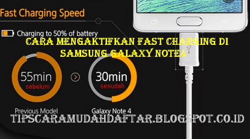Fast Charging di Samsung Galaxy Note4