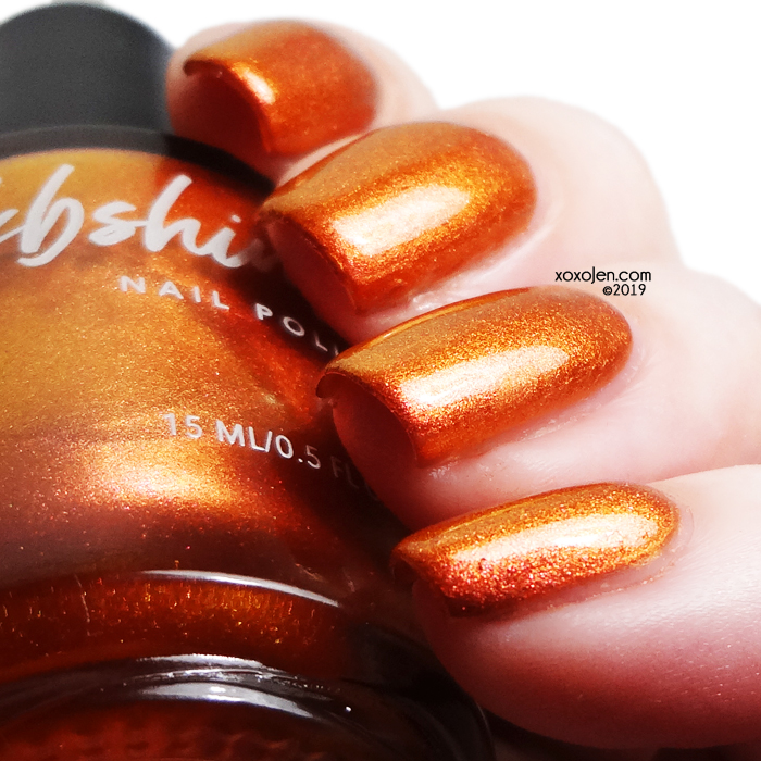 xoxoJen's swatch of kbshimmer Spice Things Up