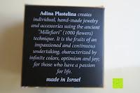 Verpackung unten: Kunstvolles Silber Halskette mit Kolibri Anhänger