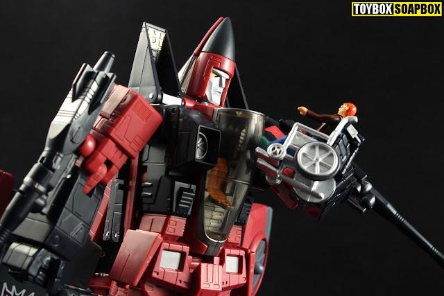 transformers masterpiece thrust face