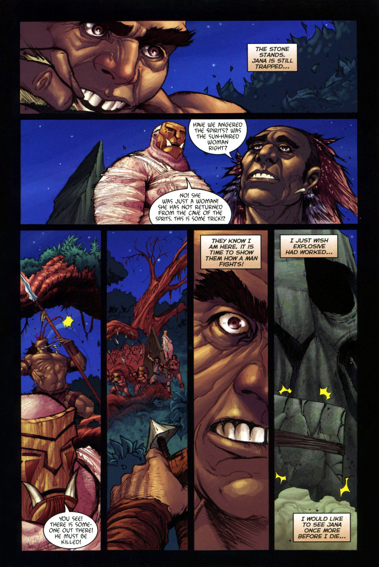 Read online Jungle Girl comic -  Issue #4 - 8