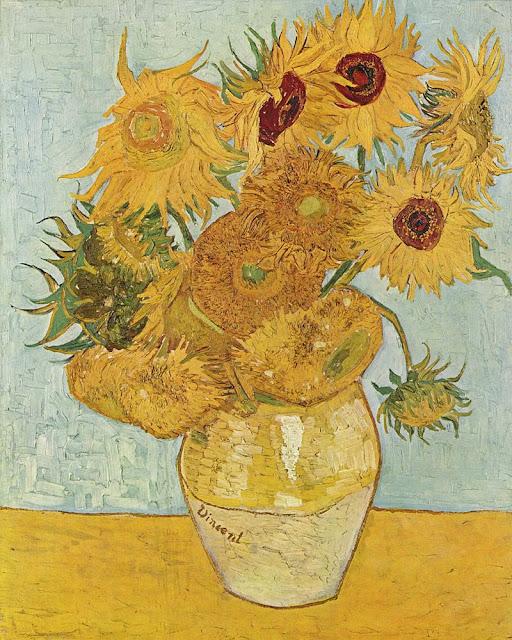 Los girasoles de Vincent van Gogh, 1888