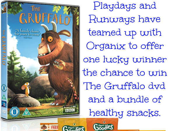 The Gruffalo and Organix Giveaway
