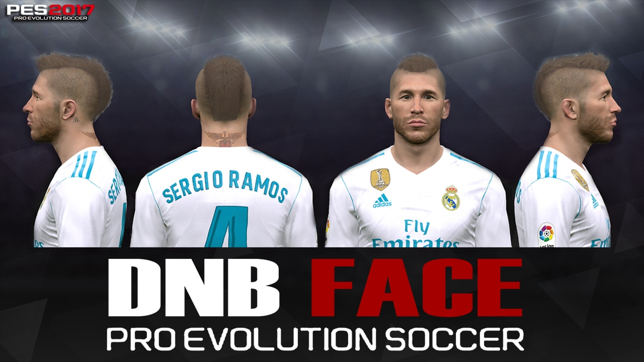 PES 2017 S. Ramos Face by DNB FACE