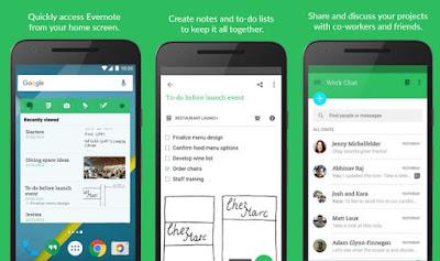Screenshot EverNote Untuk Android