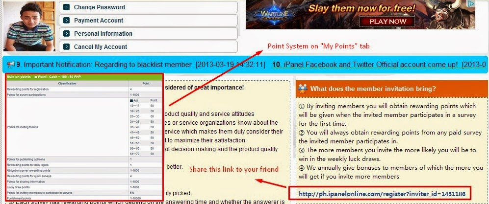 How to Use and Earn from Answering Surveys on IpanelOnline.com