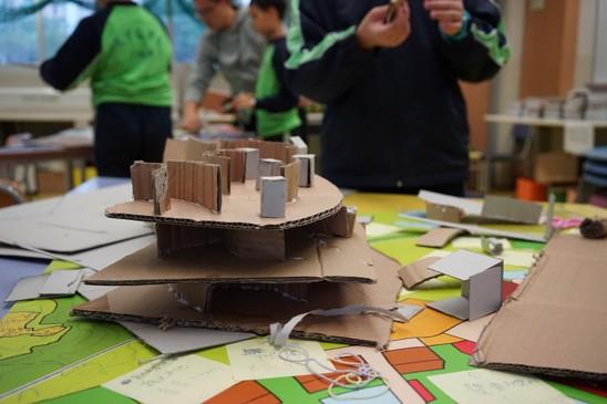 Ensinando as crianças a pensar como arquitetos