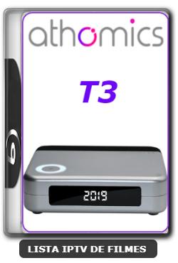 Athomics T3 Nova Atualização Melhorado o app cinema V1.2.6 - 21-06-2020