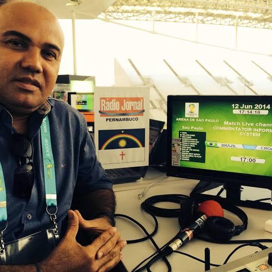 Comentarista esportivo Maciel Júnior está na UTI com suspeita da Covid-19