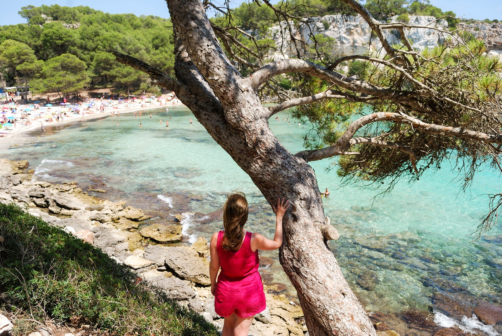 cala Macarella Instagrammable Places Menorca Spain