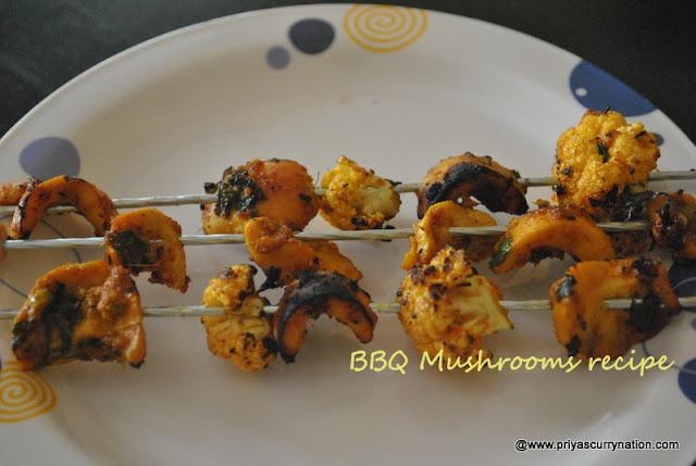 bbq-mushrooms