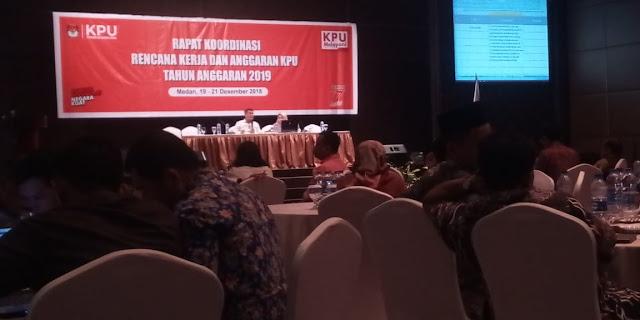 Wow! Anggaran KPU Medan untuk Pemilu 2019 Sebesar Rp61,2 Miliar