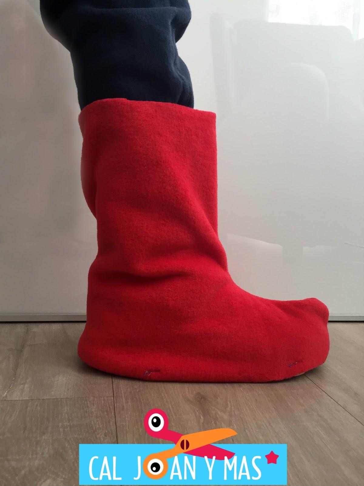 Cal joan y m s botas para disfraces - Fundas para zapatos ...