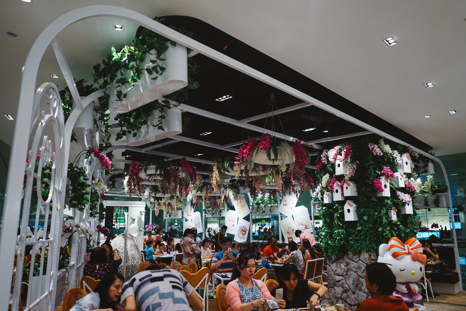 Hello Kitty Orchid Garden Singapore Changi Airport