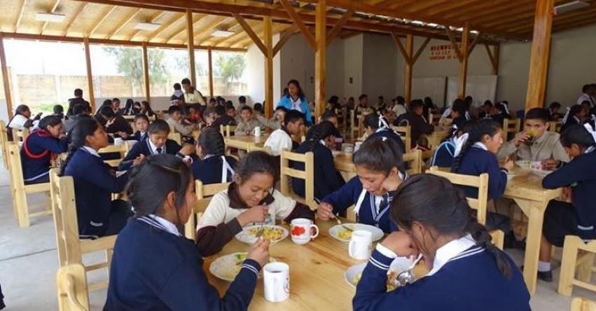 QALI WARMA: Programa social entregó en la región Ancash, más de 41 millones de raciones durante servicio alimentario escolar 2019 - www.qaliwarma.gob.pe
