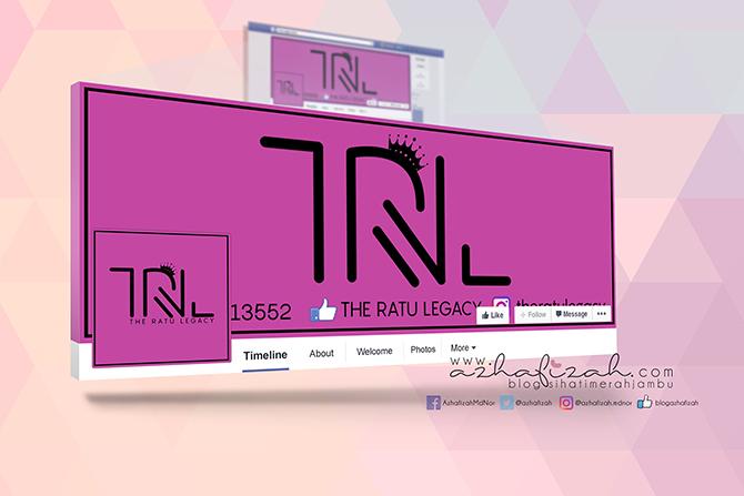 Tempahan Design Logo dan Facebook Cover The Ratu Legacy