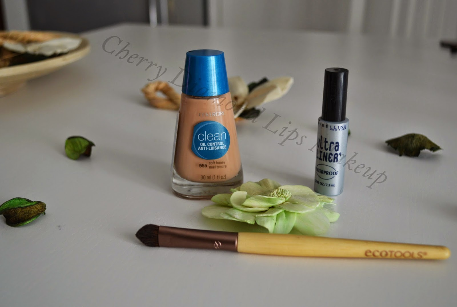 CoverGirl, Maybelline, Ultra Liner Waterproof, Ecotools, Clean Oil Control