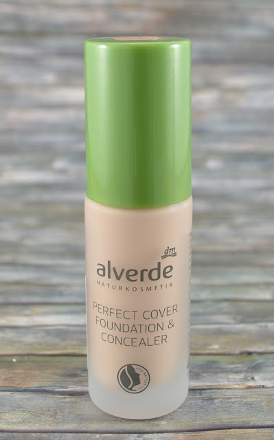 Alverde perfect cover Foundation & Concealer 10 vanilla
